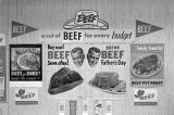 Posters for a Father's Day beef promotion sponsored by the Alabama Cattlemen's Association.