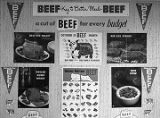 Beef promotion posters from the Alabama Cattleman's Association.