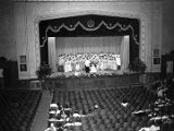 Women's choir performing on stage during a meeting of the Alabama Congress of Parents and Teachers...
