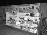 Booth at the 1965 Alabama Retail Hardware Association convention at Garrett Coliseum in...