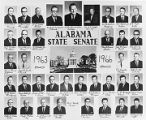 Composite photograph of the Alabama Senate for 1963 through 1966.