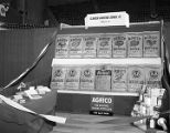 American Agricultural Chemical Company booth at Garrett Coliseum during the 1955 South Alabama...