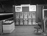 American Agricultural Chemical Company booth at Garrett Coliseum during the 1956 South Alabama...