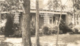 """The Pines,"" country home of Dr. and Mrs. Sweeney, located three miles south of Eufaula..."