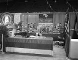Amway booth at Garrett Coliseum during the 1967 South Alabama Fair in Montgomery, Alabama.