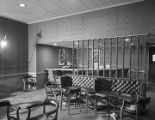 Lounge at the officers' club at Maxwell Air Force Base in Montgomery, Alabama.