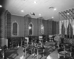 Interior of the officers' club at Maxwell Air Force Base in Montgomery, Alabama.