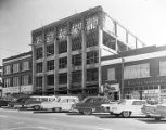 Construction of the Alabama Power Company building at 244 Dexter Avenue in Montgomery, Alabama.