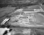Aerial view of the construction of the Frosty Morn plant on Mobile Road in Montgomery, Alabama.