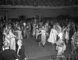 Couples dancing at the Krewe of the Athenians Ball at the Montgomery City Auditorium in...