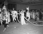 King and queen of the Krewe of the Athenians Ball at the Montgomery City Auditorium in Montgomery,...