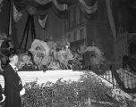 Pageant on stage during the Krewe of the Athenians Ball at the Montgomery City Auditorium in...