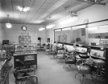 Interior of the Atlas Beauty Parlor at 256 Monroe Street in Montgomery, Alabama.