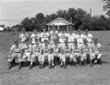 Members of the Babe Ruth League Blue Team in Montgomery, Alabama.