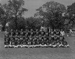 Football team at Baldwin Junior High School in Montgomery, Alabama.