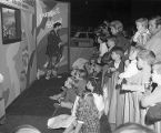 Puppet show at the Alabama Baptist State Convention booth at Garrett Coliseum during the 1970...