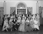 Members of the Business and Professional Women's Club, probably in Montgomery, Alabama.