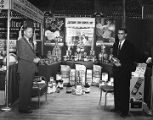 California Spray Chemical Corporation booth at Garrett Coliseum during the 1956 South Alabama Fair...