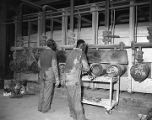 Employees working at the Alamet Division of Calumet and Hecla in Selma, Alabama.