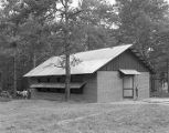 Cabin at Camp Rotary in Elmore County, Alabama.