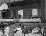 Loyalty dinner hosted by the Episcopal Campaign Fund at the Fort Dixie Graves Armory in...
