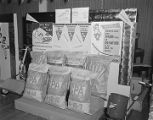 Cotton Producers Association fertilizer display at a Farmers Marketing and Exchange Association...
