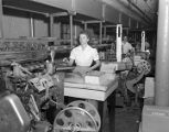 Employees making candy at the Hollywood Nut Products Company at 8 Lafayette Street in Montgomery,...