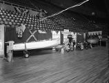 Capitol Service and Supply booth at Garrett Coliseum during the 1956 South Alabama Fair in...