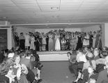 Womanless wedding at Dexter Avenue Methodist Church in Montgomery, Alabama.