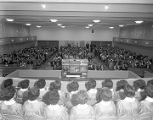 Congregation at Dalraida Baptist Church at 3838 Wares Ferry Road in Montgomery, Alabama.