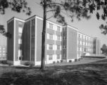 James Burns Clements Hall, a men's dormitory at Troy State University in Troy, Alabama.