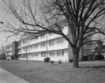 WAF dormitory at Maxwell Air Force Base in Montgomery, Alabama.