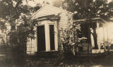 The small house in which Helen Keller studied with her teacher Anne Sullivan in Tuscumbia, Alabama.