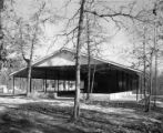 Pavilion at Camp Tukabatchee near Prattville, Alabama.