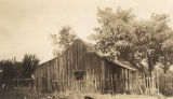 Part of the old slave quarters on the J. H. Norville plantation in Sumter County, Alabama,...