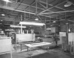 Cardboard cutting room at Brockway Glass Company at 3480 Lower Wetumpka Road in Montgomery,...