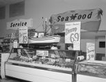 Seafood counter at the Normandale A&P in Montgomery, Alabama.