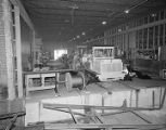 Interior of the Kershaw Manufacturing Company at 2205 West Fairview Avenue in Montgomery, Alabama.