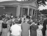 Grand opening of the Eastern Branch of the First National Bank of Montgomery at 2906 Atlanta...