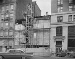 Construction of the annex to the First National Bank of Montgomery on Commerce Street in downtown...