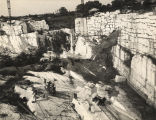 Marble quarry in Sylacauga, Alabama.