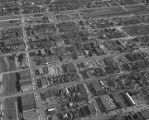 Aerial view of downtown Bessemer, Alabama.