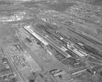 Aerial view of the Standard Pullman Car Company in Bessemer, Alabama.