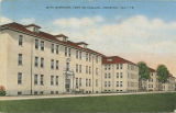 """Main Barracks, Fort McClellan, Anniston, Ala."""