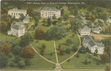 """Aerial View of Howard College, Birmingham, Ala."""