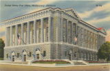 """United States Post Office, Montgomery, Alabama."""