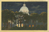 """State Capitol at Night, Montgomery, Ala."""