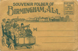 Souvenir Folder of Birmingham, Ala.