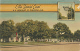 """Ellis Tourist Court, U.S. Highway 31, Clanton, Ala."""