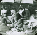 Students in an arithmetic class at Tuskegee Institute in Tuskegee, Alabama.